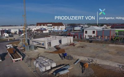 Bau-Zeitraffer / Bau-Überwachung