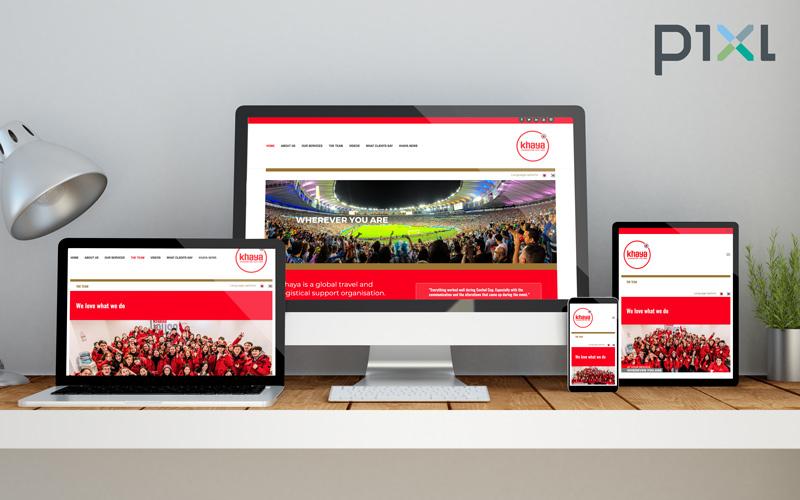 KhayaMedia, Kapstadt / khaya.global / Homepage-Design für mehrsprachige Umsetzung